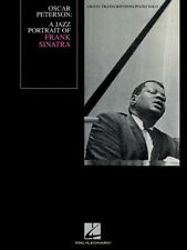 OSCAR PETERSON A JAZZ PORTRAIT OF FRANK SINATRA PIANO SHEET MUSIC SONG BOOK
