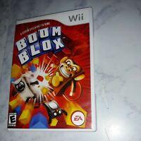 Boom Blox Nintendo Wii Game Complete Case & Manual Steven Spielberg TestedVG  C