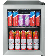 """EdgeStar Bwc71 Stainless Steel 18""""W 52 Can Capacity Extreme Cool Beverage Center"""