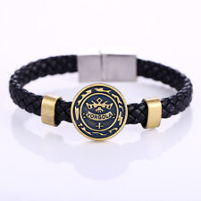 Katekyo Hitman Reborn Vongola Family Woven Bangle Bracelet Cosplay Wristband