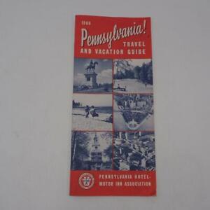 Vintage Pennsylvania Travel Brochure 1966