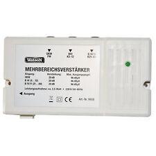 Watson Mehrbereichsverstärker 20db UHF VHF UKW DVB-T BK Verstärker Kabel TV NEU