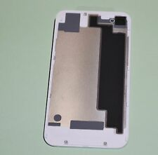 WHITE Battery Cover Back Door Glass Rear Cover for iPhone 4S GSM  T-Mobile / ATT