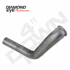 "DIAMOND EYE 4"" TURBO DOWN PIPE 99-03 FORD 7.3L POWERSTROKE - STAINLESS"