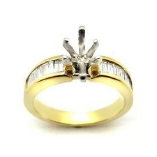 0.75 MARQUISE CUT DIAMOND ENGAGEMENT RING MOUNTING