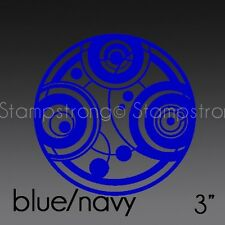 3 IN SEAL OF PRYDONIAN GALLIFREY DOCTOR WHO RASSILON Decal Sticker TARDIS 209