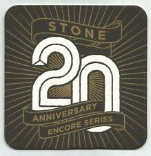 15  Stone 20 Anniversary Encore Series  Beer Coasters