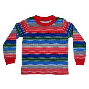 Infant Baby Rainbow Striped Good Buddy Halloween Costume Shirt 9M 12M 18M