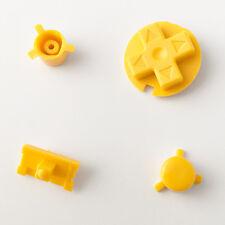 Botones De Color Amarillo Nuevo Reemplazo Nintendo Game Boy bolsillo GBP Personalizado Mod