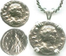 223AD Roman Silver Coin Empress Julia Maesa Chastity Modesty Goddess Pudicitia