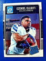 2016 Donruss Optic Football Card #168 Ezekiel Elliott RR RC (The Shortstop)