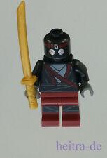 Lego Ninja Turtles-Foot soldier rojo oscuro con espada/soldado tnt005 mercancía nueva