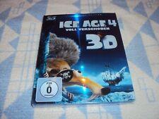 Ice Age 4 - Voll verschoben (+ BR) [3D Blu-ray] im Pappschuber NEU OVP