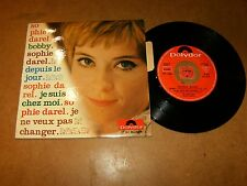 SOPHIE DAREL  - EP FRENCH POLYDOR 27161 / LISTEN - TEEN GIRL FRENCH POPCORN