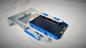 Mac Pro SSD HDD 2.5 to 3.5 Drive Sled adapter Mac tower Fast shipping