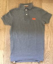 Superdry Mens Polo Shirt Top Slim Fit Size Small Teenage Also