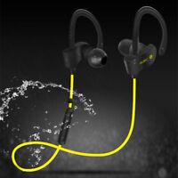 Wireless Bluetooth 4.1 Sweatproof Headset Stereo Headphone Gym Running Earphone