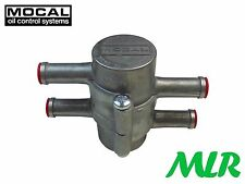 """MOCAL OT/1B REMOTE OIL COOLER THERMOSTAT 10mm 3/8"""" PUSH ON FITTINGS MLR.BCN"""