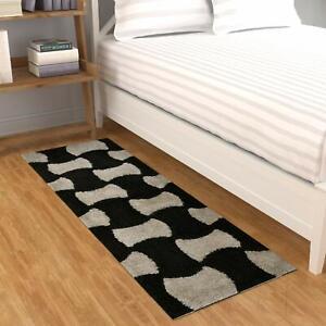 Multicolour Polyester 55x140Cm Rectangular 1Pc Soft Rug For Home,Dinning,Bedroom
