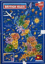 British Isles 500 Piece Jisaw Puzzle