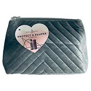 Neal & Wolf Protect & Pamper Set - Velvet, Guard + Toiletry / Make up Bag