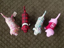 New listing Victoria's Secret Stuffed Collector's Dog Toys, Lot of 4 dogs