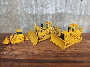 Lot of 3 Cat Caterpillar Toys Conrad D11N  D10 Dozer Joal 955L Traxcavator Wayne