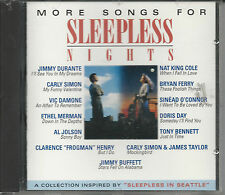"CD ""More Songs for Sleepless Nights"" by Various Artists -  FREE SHIPPING!"