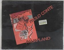 PAOLO CONTE AGUAPLANO DOPPIA  MC K7 MUSICASSETTA SIGILLATA!!!