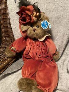 """NEW! Bearington Bears ROXANNE  Bear Teddy Collection 1508 Retired 18"""""""