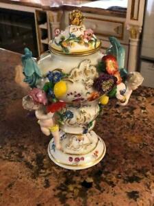 Very Rare 18th Century Meissen Porcelain Vase