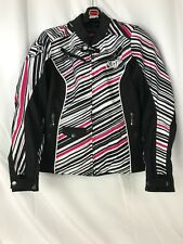 WOMENS SHIFT ENVY MOTORCYCLE RIDING JACKET - SIZE SMALL