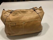 Fossil Tan Leather Hand Bag Purse