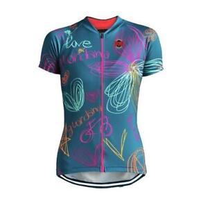 "Women's ""Love My Bike"" Cycling Jersey"