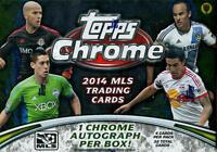 2014 Topps Chrome MLS Soccer - Pick A Player