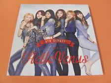 HELLO VENUS - 4th Single Album CD w/Photo Booklet (40p) + Photo Card $2.99 Ship