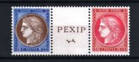 "FRANCE STAMP TIMBRE 348 / 349 "" CERES EXPOSITION PEXIP 1937 "" NEUFS xx LUXE R756"