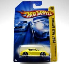 Hot Wheels 2007 First Editions Porsche Cayman S Yellow K6164 032/156 NEW IN BOX