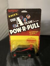 The A Team ERTL Van **RARE** POW-R-PULL Motorized Action Van