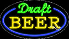 """NEW """"DRAFT BEER"""" 30x17 OVAL BORDER REAL NEON SIGN w/CUSTOM OPTIONS 14514"""