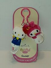 Hallmark Hello Kitty & My Melody NEW itty bittys Clippys Back Pack/Key Clip