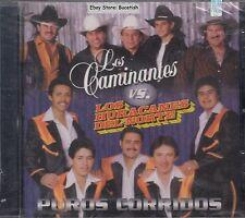 Los Caminantes VS Los Huracanes Puros Corridos CD New Nuevo Sealed