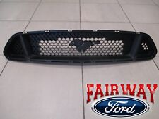 15 thru 17 Mustang OEM Ford 5.0L GT Upper Radiator Grille without Emblem NEW