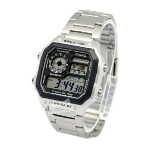 -Casio AE1200WHD-1A Digital Watch Brand New & 100% Authentic