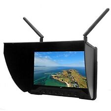"""Flysight Black Pearl RC801 5.8GHz 40CH 7"""" LCD Diversity Receiver 1024 600 HD ..."""