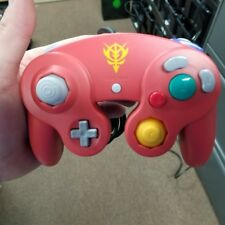 Nintendo GameCube Wii Controller Char's Limited Red Gundam. US Seller!! Tested