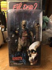 Henrietta Deluxe Action Figure New Sealed Neca Evil Dead 2 - 25th Anniversary