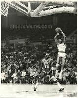 Connie Hawkins vs Tom Satch Sanders Basketball Original TYPE I Photo PSA/DNA LOA