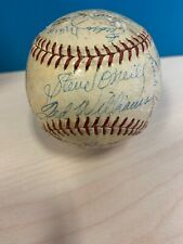 1951 Boston Red Sox Team Signed American League Baseball Ted Williams