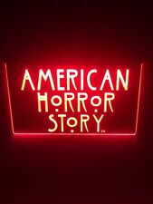 american horror story & Other Tv Series Led Light Sign Game Room Home Theater